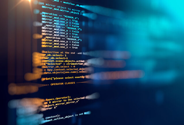 Abstract computer code and data